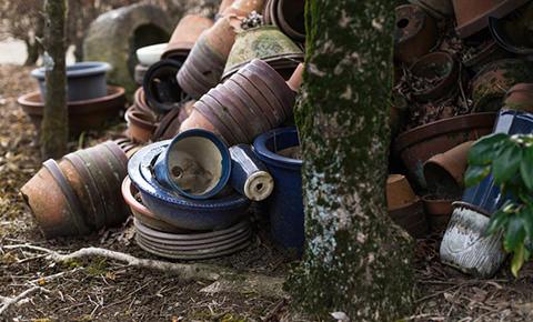 ベランダ・お庭の掃除