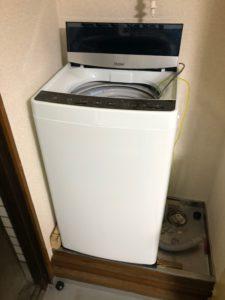 洗濯機、ビフォー