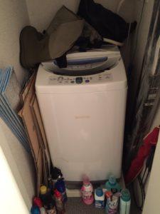 洗濯機、段ボール、スポーツ用品、スプレー缶、洗剤容器