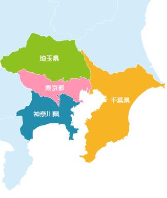対応エリアマップ|東京都足立区の不用品回収ならスマートライフ|不用品回収/不用品処分/不用品買取/不用品リサイクル/遺品整理