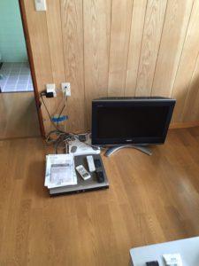 テレビ、DVDプレイヤー、ヘルスメーター