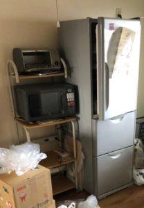 冷蔵庫、電子レンジ、トースター、