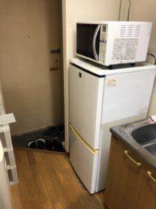 電子レンジ 冷蔵庫 回収