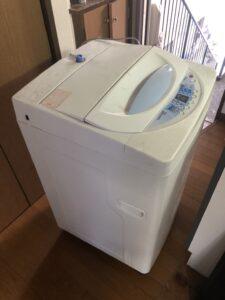 洗濯機 回収作業